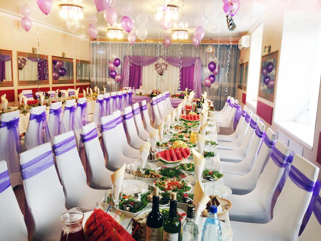 Банкетный зал в Луге в кафе ресторане VIP